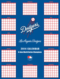 Los Angeles Dodgers - 2014 Giant Poster Calendar Calendars