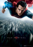 Man Of Steel (Flying) Movie Poster Masterprint