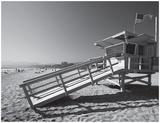California Lifeguard Stand Poster