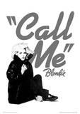 Blondie (Call Me) Music Poster Masterprint