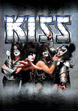 Kiss - Monsters (German Friendly) Music Poster Lámina maestra