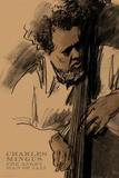 Charles Mingus Poster av Clifford Faust