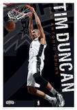 NBA - Tim Duncan Basketball Sports Poster Masterprint