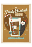 Frosty Freddy Print by  Anderson Design Group
