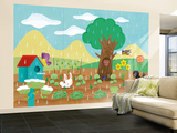 The Noisy Garden - Humpty Dumpty Wall Mural – Large by Sheree Boyd