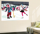 Icy Valentine - Jack & Jill Wall Mural by Beth Henninger