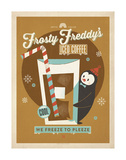 Frosty Freddy Poster by  Anderson Design Group