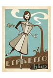 Espresso Print by  Anderson Design Group