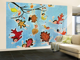 Leaf Kids - Jack & Jill Wall Mural – Large by Stella May DaCosta