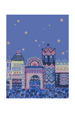 Casablanca Graphic Giclee Print