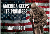 America Keeps Its Promises Military Poster Posters