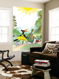 Ted, Ed and Caroll are Great Friends - Turtle Wall Mural by Valeri Gorbachev
