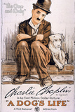 A Dog's Life Movie Charlie Chaplin Poster Print