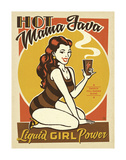 Hot Mama Java Prints by  Anderson Design Group