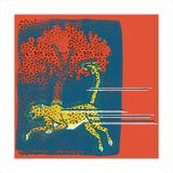 Cheetah Lámina giclée