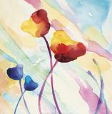 Tilt Tulips II Prints by Deborah LaMotte