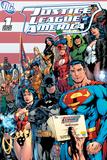 DC Comics - Justice League Cover Obrazy