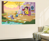 Brown Bear Stumbled from His Den - Turtle Wall Mural by Gary LaCoste