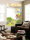 The Adventures of Ted, Ed and Caroll - Turtle Wall Mural by Valeri Gorbachev