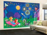 Night Light - Turtle Wall Mural – Large by Elisa Chavarri