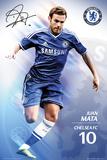 Juan Mata Chelsea FC Plakater
