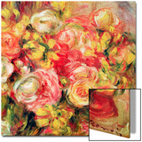 Roses Prints by Renoir Pierre-Auguste
