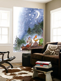 Counting the Stars - Turtle Wall Mural by Valeri Gorbachev