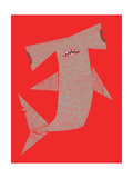 Baby Hammerhead Giclee Print