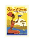 Queen of Sheba Giclée-tryk af Anderson Design Group