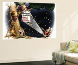 Fireflies by Flashlight - Jack & Jill Wall Mural by Sam Berman