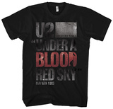 U2 - Under A Blood Red Sky (slim fit) T-shirts