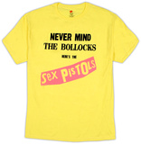 Sex Pistols - Yellow Nevermind The Bullocks Shirts