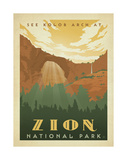 Zion National Park Posters by  Anderson Design Group