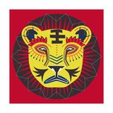 Lion Grove Giclee Print