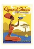 Königin von Sheba Poster von  Anderson Design Group
