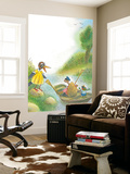 The Adventures of Ted, Ed, and Caroll - Turtle Wall Mural by Valeri Gorbachev