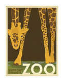 Zoo Giraffe Prints by  Anderson Design Group