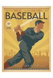 Baseball Poster di Michael Harrison