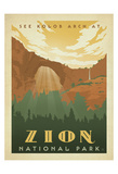Zion National Park Print by  Anderson Design Group