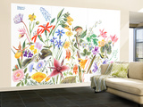May Flowers - Jack & Jill Wall Mural – Large by Frank Dobias