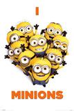 Despicable Me 2 (I Love Minions) Movie Poster Fotografie