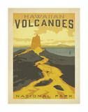 Hawaiian Volcanoes Print by  Anderson Design Group