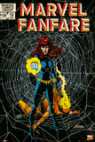 Marvel Fanfare Black Widow Poster