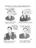 Highlights of Ted Cruz's 21-hour Marathon Speech - Cartoon Regular Giclee Print by Emily Flake