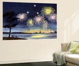 Fireworks Show - Jack & Jill Wall Mural by Wilmer H. Wickham