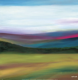 Prairie Abstract 4 Prints by Mary Johnston