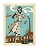 Espresso Prints by Jane Claire