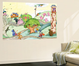 Wacky Fairy Tales - Humpty Dumpty Wall Mural by Marsha Winborn