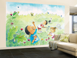 The Butterly Egg - Humpty Dumpty Wall Mural – Large by Amy Wummer