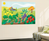 Time to Count the Breeze - Turtle Wall Mural by Sheree Boyd